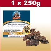 250 g dried beef jerky