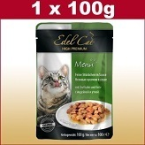 100 g cats wet food with turkey and duck in sauce in the freshness bag